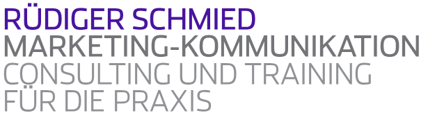 Rüdiger Schmied Marketing-Kommunikation
